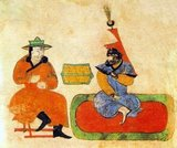 Genghis Khan (1162–1227), born Borjigin Temujin, was the founder, Khan (ruler) and Khagan (emperor) of the Mongol Empire, which became the largest contiguous empire in history after his death. He came to power by uniting many of the nomadic tribes of northeast Asia. After founding the Mongol Empire and being proclaimed 'Genghis Khan', he began the Mongol invasions that would ultimately result in the conquest of most of Eurasia. These included raids or invasions of the Kara-Khitan Khanate, Caucasus, Khwarezmid Empire, Western Xia and Jin dynasties.<br/><br/>  These campaigns were often accompanied by wholesale massacres of the civilian populations – especially in Khwarezmia. By the end of his life, the Mongol Empire occupied a substantial portion of Central Asia and China. Mongolian Information: The founder of the Mongolian State, Temujin Genghis Khan, was born in 1162, the black horse year,in Deluunboldog on the bank of river Onon,Hentei Aimag as the eldest son of Yesuhey Baatar and princess Oulun. He assumed the throne in 1206,the red tiger year, and passed away in 1227,the red pig year.The first capital of his empire was in Hudou aral on Herlen River,Present Avarga Toson.